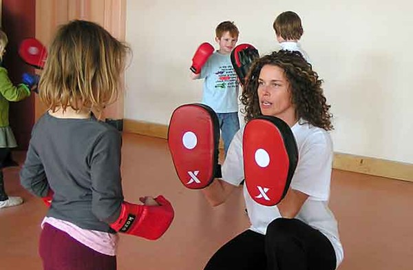 ZenmaX pad traning children-with-Nadja-at-Nijmegen